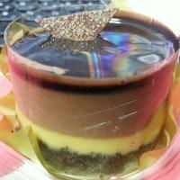 ベルガモット香るチョコレートケーキ@ローソン