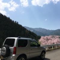 春先のスーパー林道