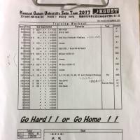 10月13日(木)  1部練