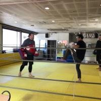 1/18下川原靖也コーチの水曜朝フィットネスクラス練習日記