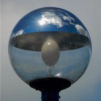球体の中の空