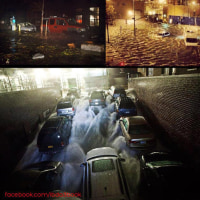 地震雲か!?と話題  / アメリカを襲ったハリケーン『サンディ』の被害状況