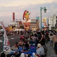 五所川原立佞武多祭りで熱唱