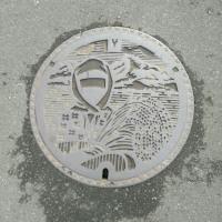 山形県鶴岡市のマンホール