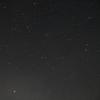 待望の星空