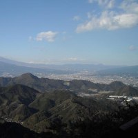 伊豆の国パノラマパークから見えた 富士山