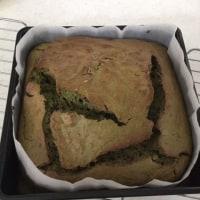超簡単、抹茶小豆パウンドケーキ