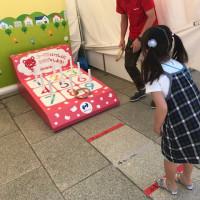 イクちゃんサービス店「生協」のコーナーと2017フラワーフェスティバル