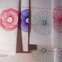 スピログラフ~幾何学模様の定規のノート