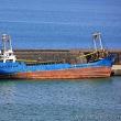 かつて難民を運んでいた船がCATANIAで座礁
