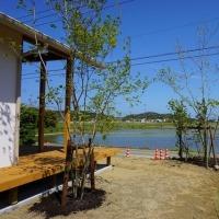 良い家を造って売りたい!プロジェクト 『 田園を望む家 』。程々のランドスケープデザイン完成!!しました。