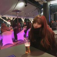ユンジョ ビールを飲む2
