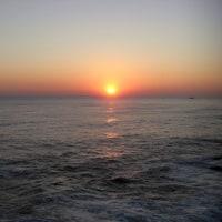 五浦の朝日