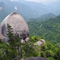 ササユリが咲き誇る大崩山へ 2