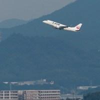 博多駅屋上でのひまつぶし写真 飛行機編