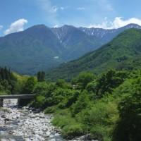 赤沢自然休養林へ