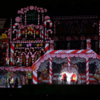 開業15周年のUSJでクリスマスショー