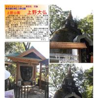 散策 「東京中心部北 313」 上野公園 上野大仏