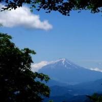 奥多摩三山で富士を撮る ・・・ 爺さんの山歩き