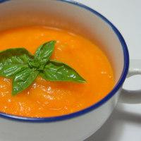 冷たいキャロットスープ