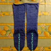 爪先から編む靴下 大 4足目 その4