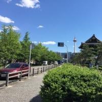 春の陽気に誘われて 〜 京都駅界隈