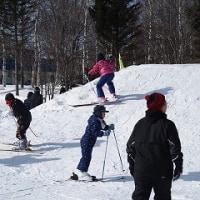 スキー学習に向けて、一年生の取組