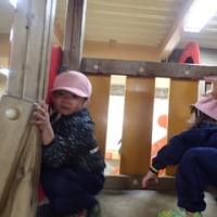 ぴんく 2歳児 体育館下活動☆