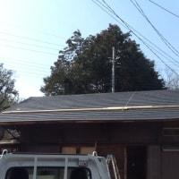 屋根葺き完成