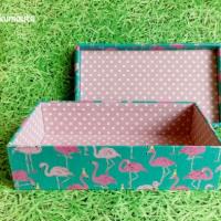 くま&フラミンゴの箱☆明日はクリマ出展