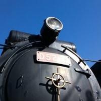【D52】青空の下精悍な勇姿...御殿場駅前