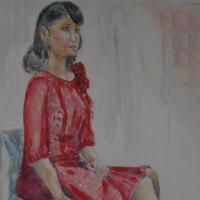 赤いドレスの女(ひと)