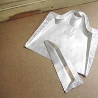 アルミ製パンくずちり取り/Aluminum Crumb Tray & Sweeper