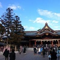 寒川神社に初詣🙇