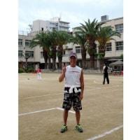 東成区キックベースボール大会で感動した日 kick baseball which is Japanese original sport for girls