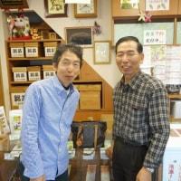 東京に居る長女の企業楽団の大先輩・・・金沢に来られて、当店にお立ち寄りいただきました。