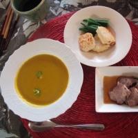 今夜のジジババ夕食