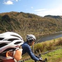 晩秋の片鉄サイクリングロード