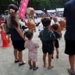 7月15日のまち その2 椿峰ニュータウン中央公園で