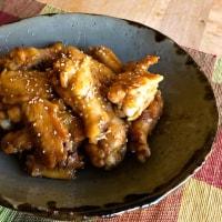 鶏の手羽先&手羽元の甘辛さっぱり煮