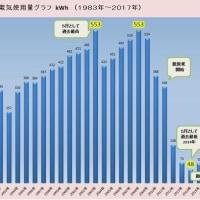 #5月度電気使用量「93kWh」 2008年対比「83%」減(ロッキーの節電大作戦)