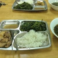 その4 Getraco夕食おいしい 三日月がきれい!!