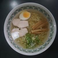 17284 ハツホー 屋台ラーメン榎@福井 6月17日 屋台では無かった屋台ラーメン榎! 冷たいスープの限定 冷中華