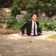JYJ ジェジュンがマンホールに落ちた!!新ドラマ「マンホール」撮影カット公開