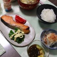 和朝食とトマトカレーうどん