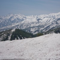 5月13日、青田南葉山に登りました。