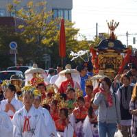 おにぎえ祭 御神幸行列 観光柳川水の精 2016・10・9