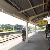 重厚な木造建築の駅 ・ JR大社線 大社駅(島根県)