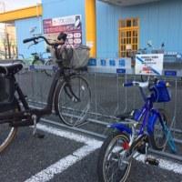 3月25日(土)  ローラー朝練  &  息子とサイクリング