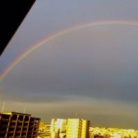 大きな虹!